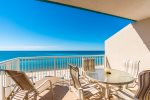 Enjoy the view of the Gulf of Mexico from your front balcony