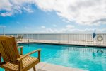 Enjoy an Oceanfront View from the Pool