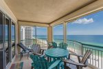 Large Balcony with Stellar views of the Gulf