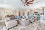 Open Concept Living Perfect for Family and Friends