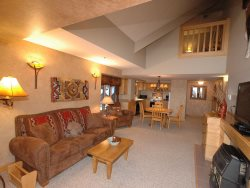2 Story Luxury Ski in/ Ski Out Condo in the Mountain Village at Big Sky Resort