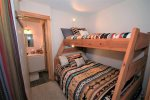 Spare room with bunk bed extra company great for parties of 4