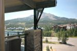 Million dollar views of Lone Peak from this master suite as well
