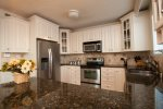 Kitchen featuring Stainless Steel Appliances and Granite Counter Tops