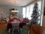Dining Area - Christmas Tree only available in Season