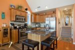 Kitchen - Granite Counter Tops- Stainless Steel Appliances