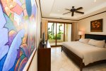 Master with ensuite and view of the Pacific