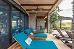 Casa de los Suenos - Upper Floor, Ocean View King Bedroom with Ensuite Bath with a Stand Alone Shower