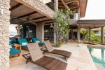 Casa de los Suenos - Private Office Area with Kitchenette Overlooking the Pacific