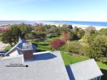 Aerial of house with views of Nauset Beach and the Atlantic Ocean