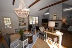 Gorgeous living/ dining room with sliders