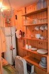Pantry area with kitchenware