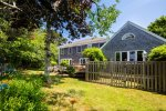 Private backyard and deck overlooking Eastward Ho golf course