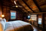 King bedroom - fall asleep to the sound of the ocean