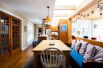 Sunny kitchen and breakfast nook
