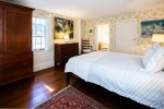 Master suite with queen bed and attached full bath