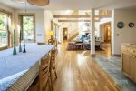 Screened porch for enjoying the breezes