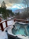 Hot Tub Overlooking the Payette River