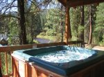 Hot Tub Overlooking the River