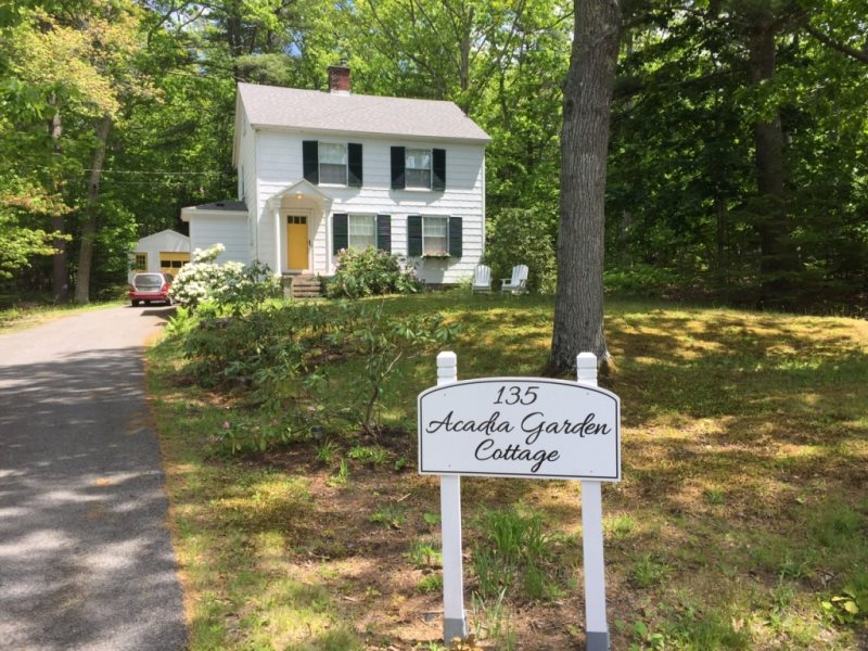 Acadia Garden Cottage Summer House Cottage Rentals