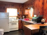 Knotty pine kitchen - a real cottage appeal
