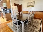 The deck can be accessed from the Master bedroom on the second floor.