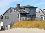 433 Atlantic Ave., Wells, Maine vacation rental. Protected by the dune, this waterfront property watches over the shoreline