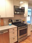 Kitchen Oven/range with Microwave