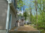 Large kitchen is fully appointed. Imagine the fun preparing food, or the card game around this table