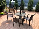 Really great patio with dine-in area