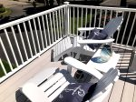 Private deck for 2 adults only