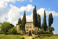 11 Bedroom with Original Ancient Tuscan Architecture