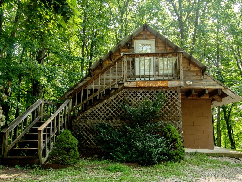 Superbe Hunters Rest Cabin. Secluded Ridge Cabins Close To The Red River Gorge ...