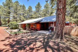 Rare 3 BR Log Cabin Treasure! Close to Grand Canyon, Flagstaff, and Sedona! Sleeps 8!