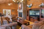 The Lodge`s Great Living Room.