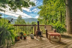 Windsong Wonder-Cozy Saluda Cabin with a Great View!