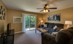 Chic-Downtown-Rutherfordton Corporate-2 BR Apt