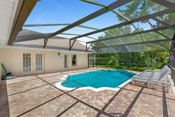 Stunning 6 bed villa with modern decor and sunny private pool overlooking conservation and woodland