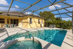 502 - Beautiful 4 Bedroom, 4.5 Bathroom Villa on a large corner lot with south facing Pool & Spa
