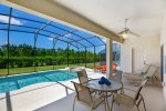 523 - Beautiful home with south facing pool in gated community