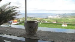 Ocean and city views, Villa on Lagoa do Fogo Mountain