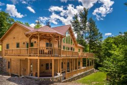 Premier Luxury Log Home