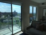 Take in stunning views of VA from the balcony.