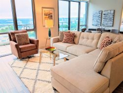 Furnished Luxury Penthouse - 18th Floor With Terrace - Outstanding Views