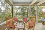 Rocking Chairs on Screened Porch