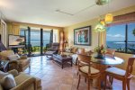 Maalaea Kai 101 Open Living area with Ocean View