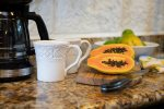 Kitchen with papaya