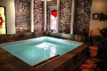 Lodge Hot Tub Located on Lower Level
