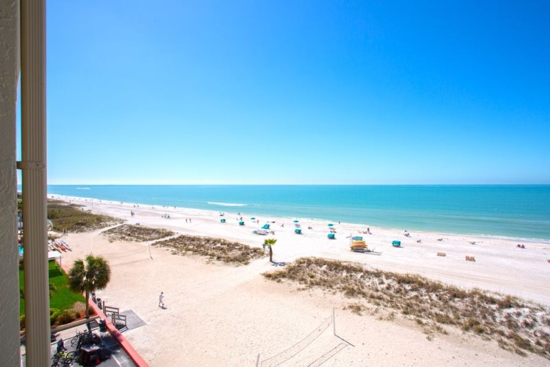 Island Inn 605 Vacation Rental Condo Treasure Island Florida
