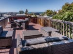 Roof top deck with ocean views